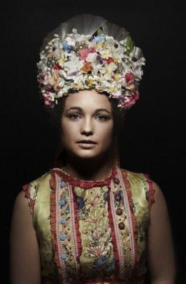 """""""Parta"""" headgear from Rejdová, Slovakia"""