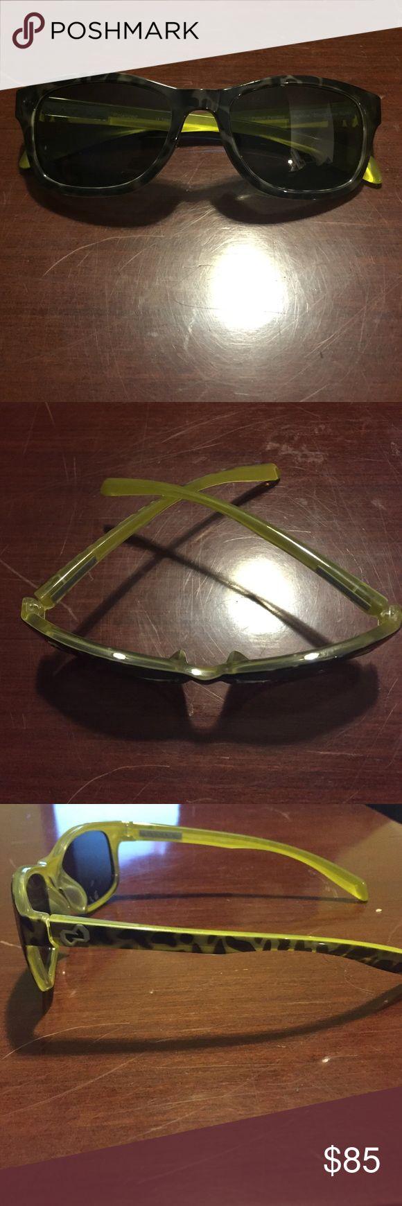 Native Eyewear Highline Polarized Sunglasses. Native Eyewear Highline Polarized Sunglasses. Color is Black Lime Burst. Never worn. Native Accessories Sunglasses
