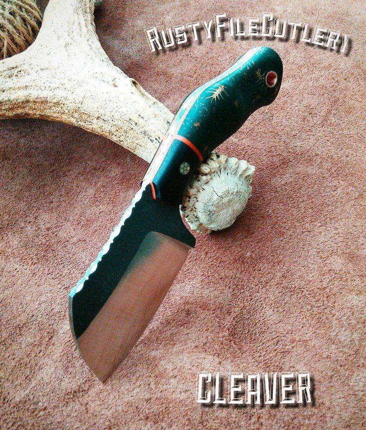 120 отметок «Нравится», 9 комментариев — Ножевая мастерская (@rustyfilecutlery) в Instagram: «Cleaver by RustyFileCutlery. CPM 3V. #cleaver  #cpm3v #customknife  #rustyfilecutlery…»