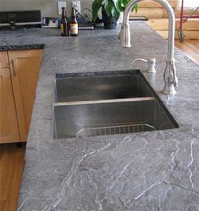 slate countertops | Photo Gallery of the Astonishing Slate Countertop Ideas In Modern ...