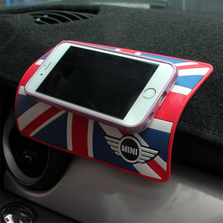 car dashboard anti slip mat mobile phone holder for mini cooper beetles. Black Bedroom Furniture Sets. Home Design Ideas