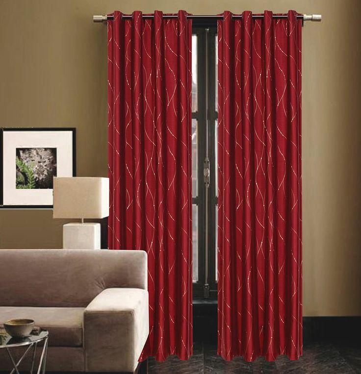 Burgundy Kitchen Curtains: Best 25+ Burgundy Curtains Ideas On Pinterest