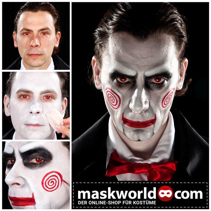 #halloween #horror #makeup #mua #saw #billy #sawpuppet #sawpuppe #billypuppe #billypuppet #billythepuppet