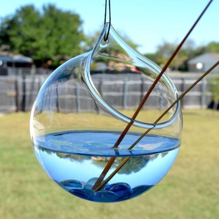 Hanging Round Glass Terrarium Planter Globe