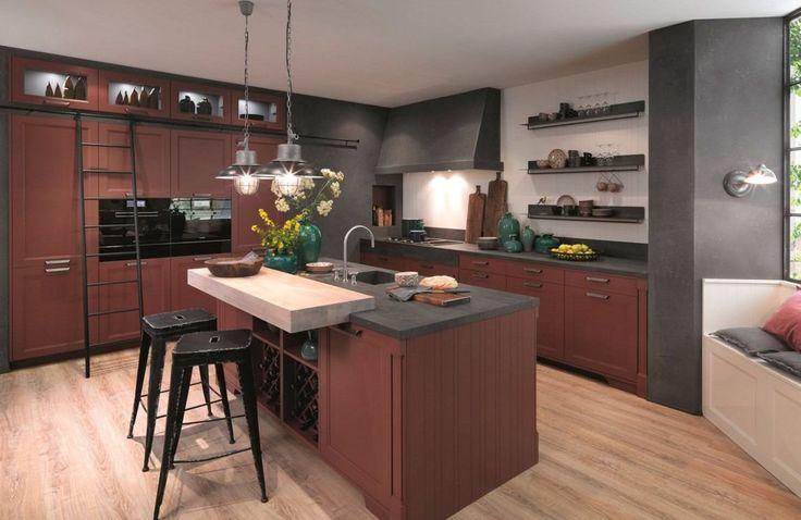 couleur cuisine tendance 2017 zoom sur les classiques et les intrus cuisine pinterest. Black Bedroom Furniture Sets. Home Design Ideas