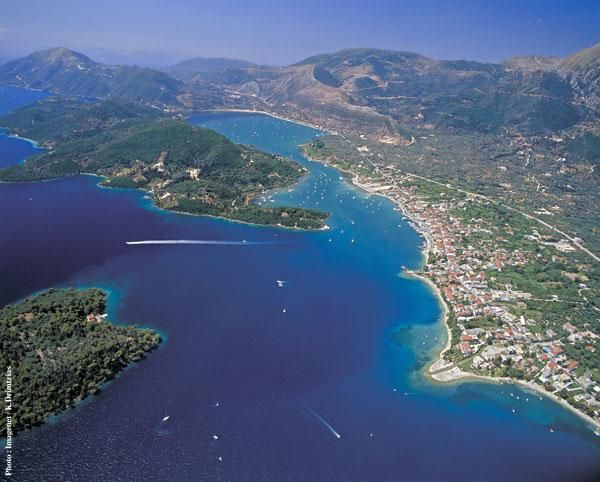 Nidri Lefkada Greece