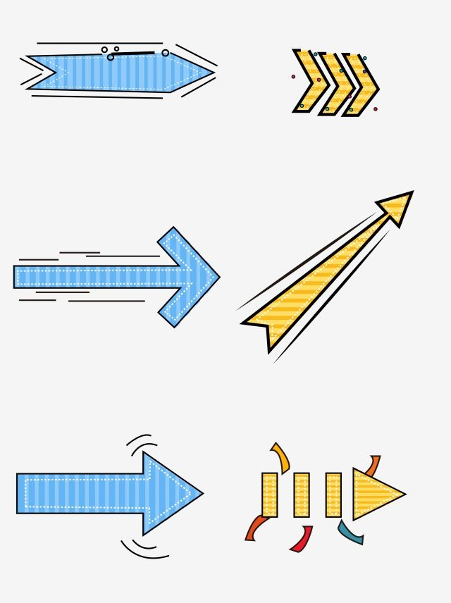 Simple Cute Cartoon Arrow Arrow Clipart Arrow Cartoon Arrow Png And Vector With Transparent Background For Free Download Graphic Design Background Templates Clip Art Cute Cartoon