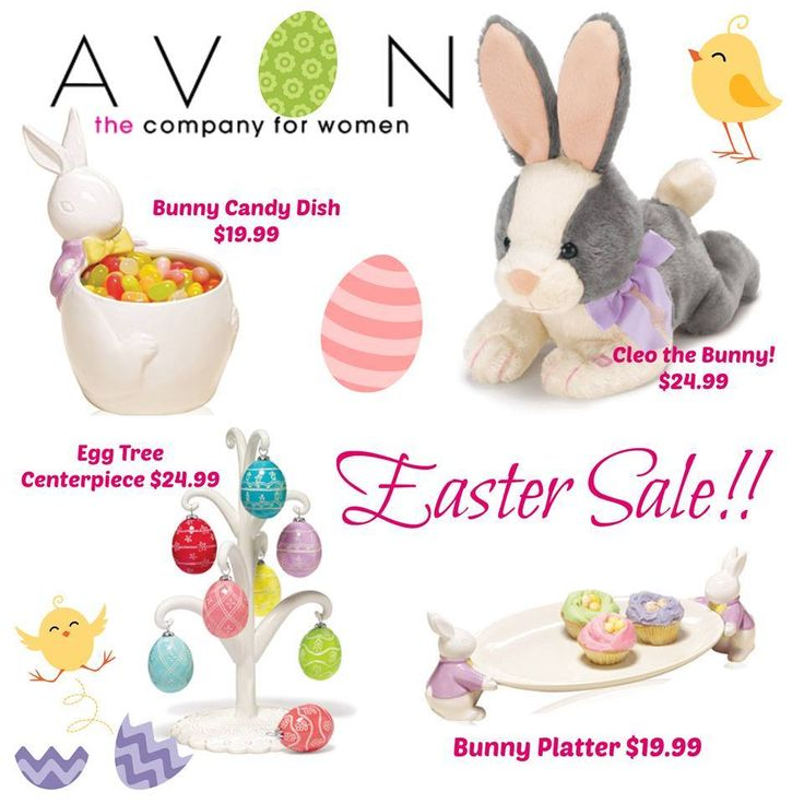 Campaign 7 is our Easter Campaign.  Some Really cute Easter Items!  www.avon.ca