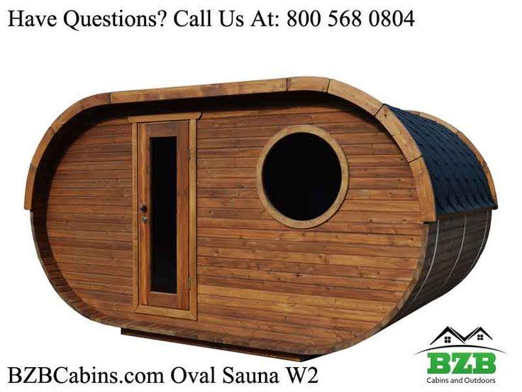 Oval Barrel Sauna Kit W2 for four people! Prefab Wooden Sauna Kit For Sale From bzbcabinsandoutdoors.net