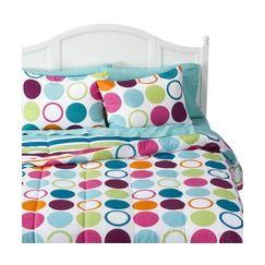 Xhilaration® Dot Comforter Set Quick Information  her new fav: Bedding, Girl Room, Dot Comforter, Comforter Sets, Room Ideas, Dots, Bedroom, Xhilaration