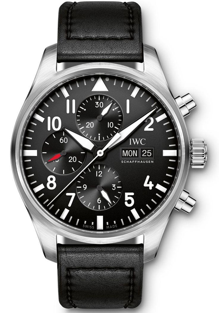 Master horologer iwc schaffhausen big pilot s watch ref iw500912 pilot s watch for Chronograph master