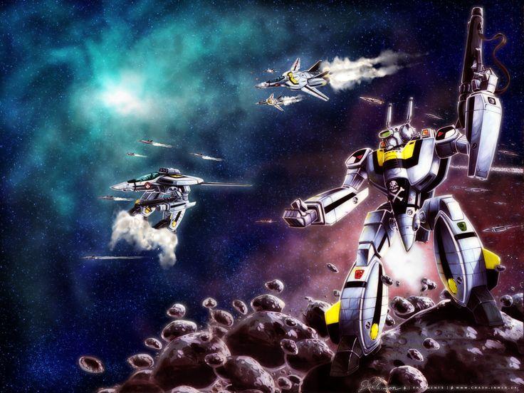 Download macross wallpaper robotechflight of the