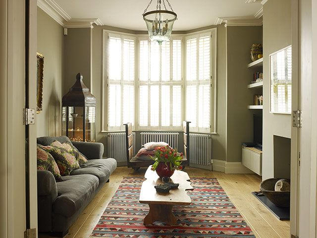 Homes le squeeze small sitting roomsfrench