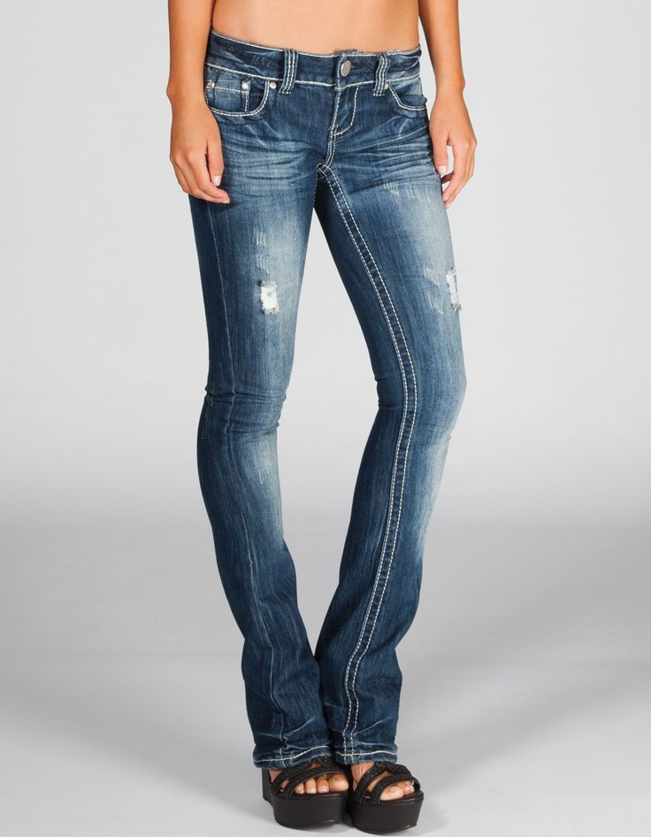 Slim Bootcut Jeans For Women - Jon Jean