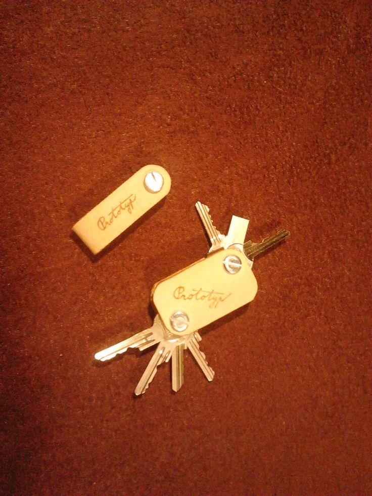 Klíčenka, přívěsek na klíče z kůže