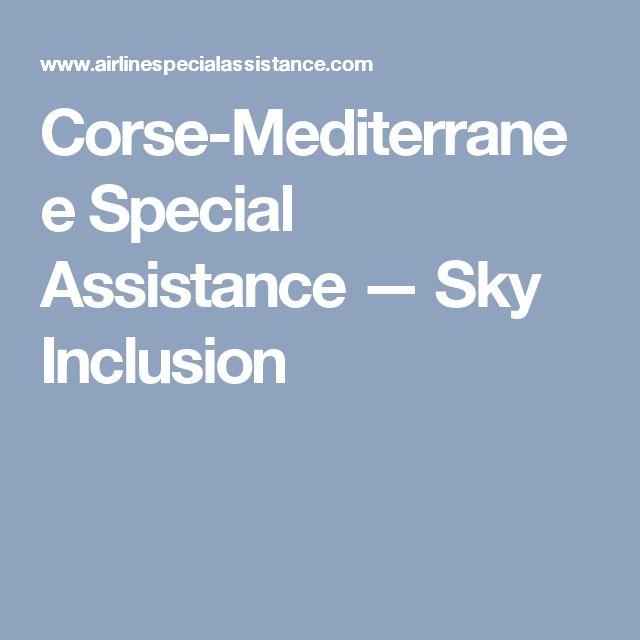 Corse-Mediterranee Special Assistance — Sky Inclusion