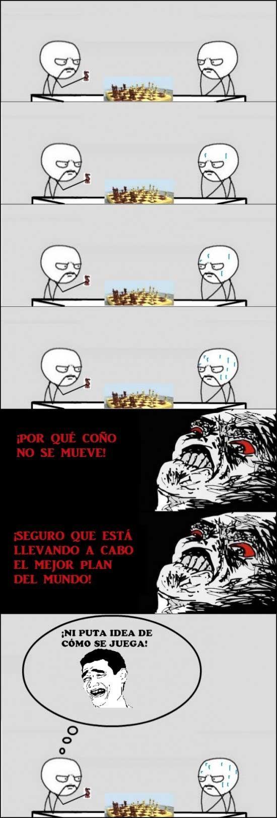 Jugando al ajedrez (FOTO) (Memes)