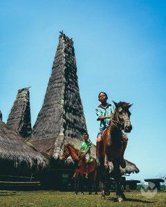 Discover Sumba Island Tour Packages South west Sumba 3 days visit to Watumandalo Beach, traditional houses of Sumba Ratenggaro Villages and Weekuri Beach