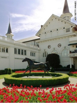 Churchill Downs... it's Derby Day, y'all!