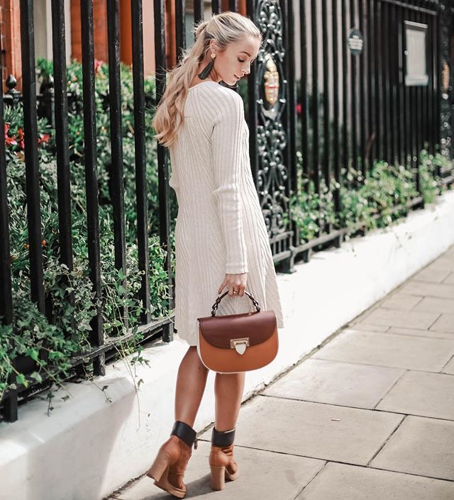 Wearing The Best of British with an Aspinal of London bag and See by Chloe  boots. Fashion MumblrLondon BagsAutumn ...