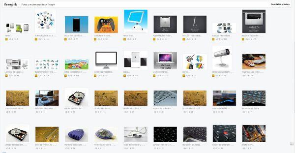 Freepik.es: un buscador de fotos e imágenes vectoriales gratuitas