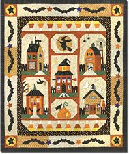 Sew Spooky Block of the Month - Stitchin Heaven