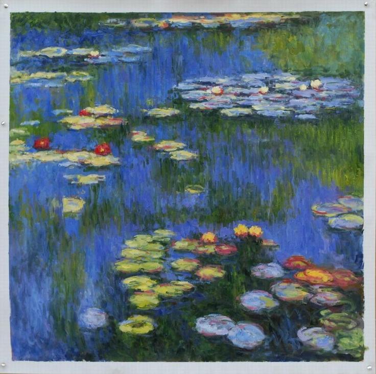 Monet, Waterlelies. 1914, 200*201 cm.