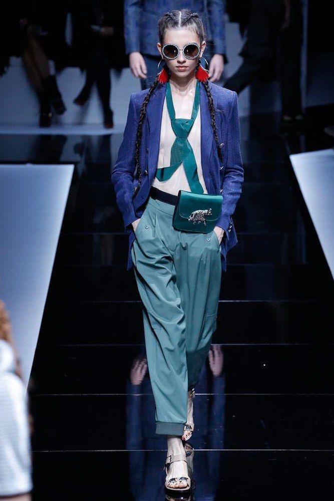 Emporio Armani Spring 2017 Ready-to-Wear Collection Photos - Vogue                                                                                                                                                                                 More