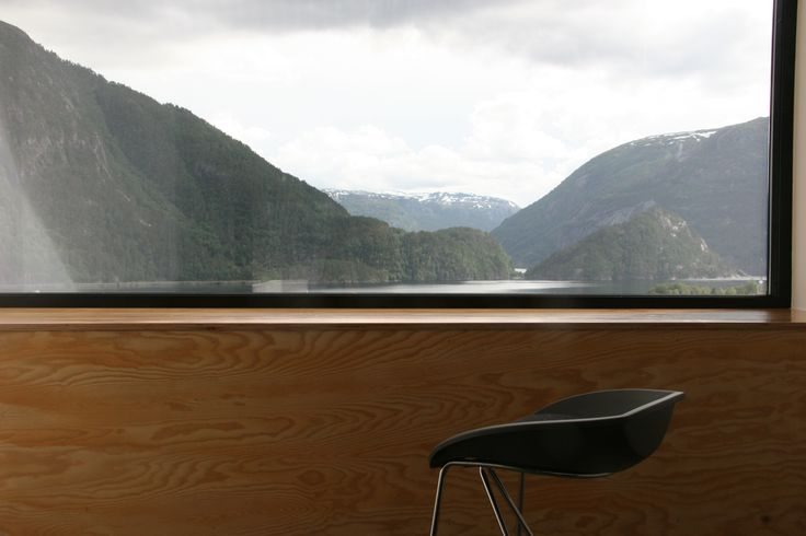 A small, intimate design hotel Energihotellet is a small, intimate design hotel situated at Nesflaten in the southern reaches of Fjord Norway, along the interior route between Stavanger and Bergen, midway between Trolltunga [the Troll's Tongue] and Preikestolen [the Pulpit Rock].  The hotel's proximity to the E134 makes access by car easy from all parts of southern Norway.