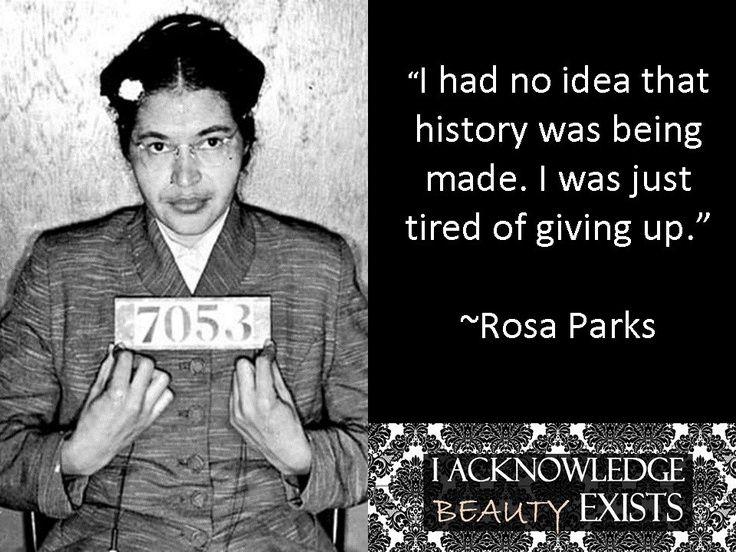 Rosa Parks Quotes 7 Best Rosa Park Quotes Images On Pinterest  Rosa Parks Quotes