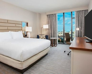 Hilton West Palm Beach Hotel, FL - King Deluxe City View
