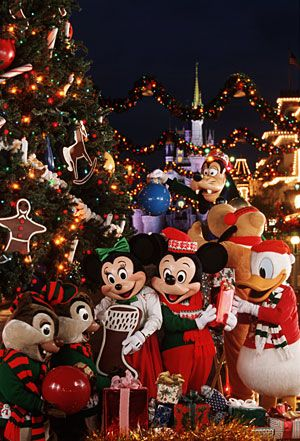 Disneyland during chrismas time!!!! Been there before but I will ALWAYS be up for going