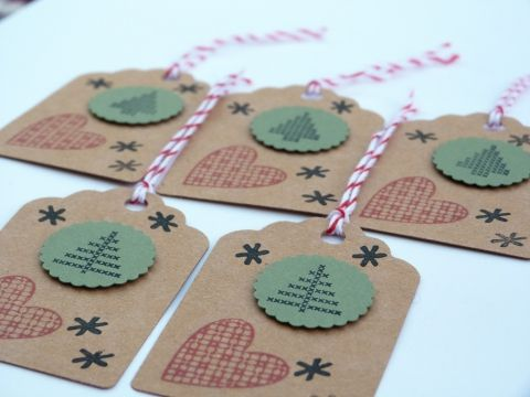 Egyedi ajándékkísérő/termékkísérő kártya - karácsonyra, Képeslap, album, füzet, Ajándékkísérő, Meska