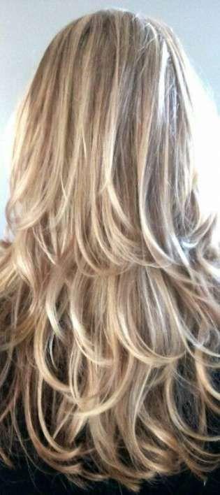Super couleur de cheveux blonde basses lumières teintures 34+ idées
