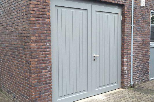 Houten Deuren Nederland | Referenties houten garagedeuren