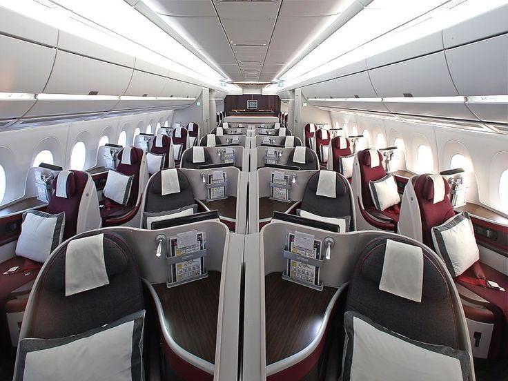 Pin on airliner public transportation interior
