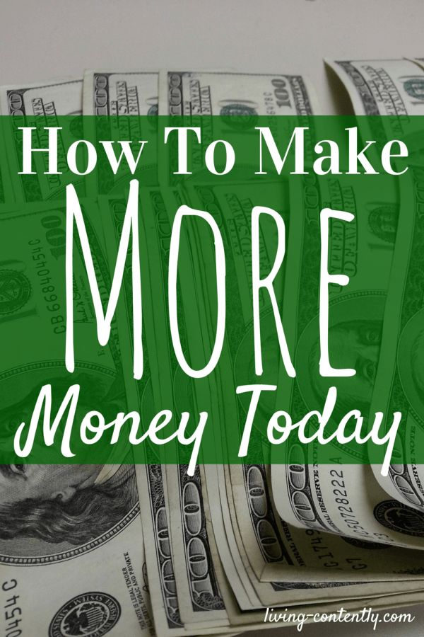 5 easy ways for how you can make more money today. Use this list to help you make more money and gain financial freedom in no time!