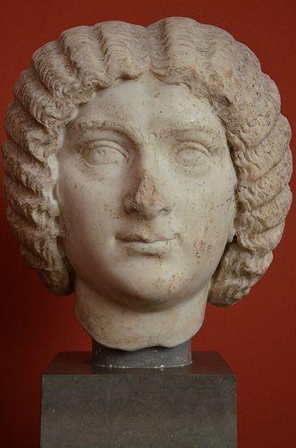 Julia Domna, Empress and wife of Roman Emperor Lucius Septimius Severus, c. 193 AD, Ny Carlsberg Glyptotek, Copenhagen