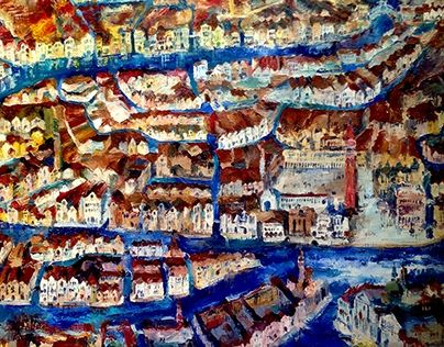 """Check out new work on my @Behance portfolio: """"Venice"""" http://be.net/gallery/48180437/Venice"""