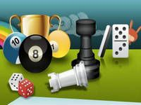 Free online social games such as scrabble, chess, backgammon, poker, 8 ball and many more.