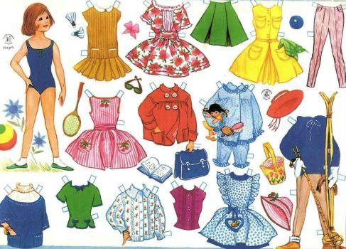 Paper Doll (70 pieces)