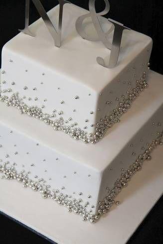 bolos decorados simples para casamento - Pesquisa Google