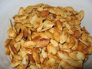 The BEST Toasted Pumpkin Seeds - its a different way to prepare them than I've ever tried... So excited to make these now!!!