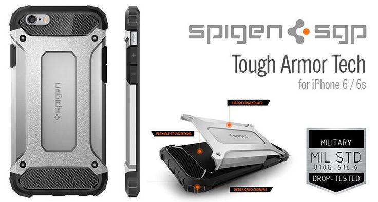 Spigen Tough Armor Tech iPhone 6/6s tok - Smart Clinic