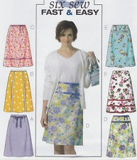 EASY SEWING PATTERN - A-LINE SKIRT Great British Sewing Bee RibbonTrim ALL SIZES