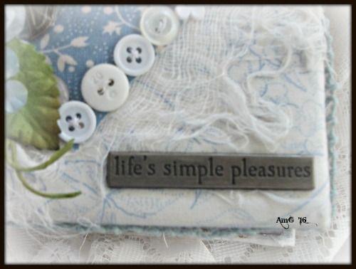 LIFE'S SIMPLE PLEASURES.... mini album by Annette