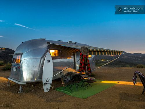 Airstream Trailer Rentals - Glamping - Country Living