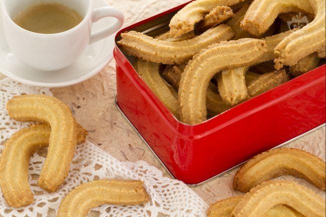 Ricetta Krumiri Senza Lievito.Biscotti Tipo Krumiri Ricetta Ricette Biscotti Idee Alimentari