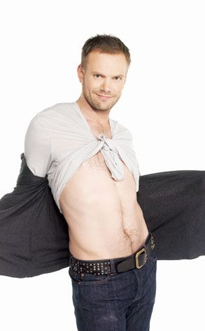 Joel McHale... come on! You totally know there's jazz hands going on in his sleeves! Lol