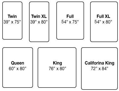 mattress dimensions